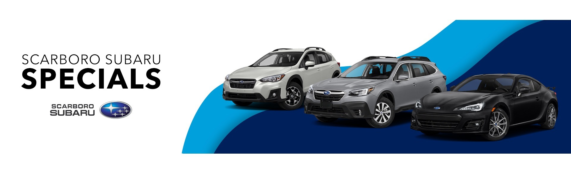 Scarboro Subaru Promotions Page Banner